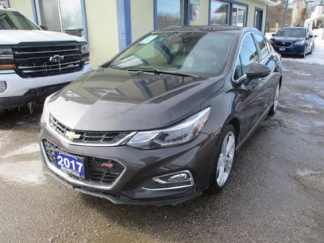 2017 Chevrolet Cruze LOADED PREMIER - RS EDITION 5 PASSENGER 1.4L - TURBO.. NAVIGATION.. LEATHER.. HEATED SEATS.. SUNROOF.. BACK-UP CAMERA.. BOSE AUDIO..