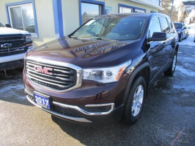 2017 GMC Acadia ALL-WHEEL DRIVE SLE-1 MODEL 7 PASSENGER 2.5L - DOHC.. BENCH & THIRD ROW.. BACK-UP CAMERA.. BLUETOOTH SYSTEM.. KEYLESS ENTRY & START..