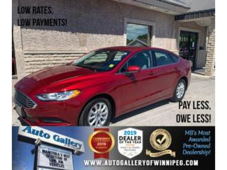 Used 2018 Ford Fusion S *Local MB Unit/Bluetooth/Backup Cam for sale in Winnipeg, MB