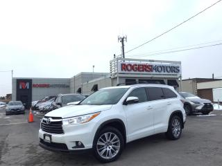 Used 2016 Toyota Highlander XLE V6 AWD - 8 PASS - NAVI - SUNROOF for sale in Oakville, ON