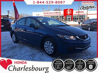 Used 2013 Honda Civic LX AUTOMATIQUE **AUCUN ACCIDENT** for sale in Charlesbourg, QC