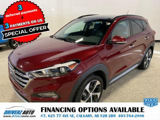 Used 2017 Hyundai Tucson Limited HEATED LEATHER, SUNROOF,AND MUCH MORE.. for sale in Calgary, AB