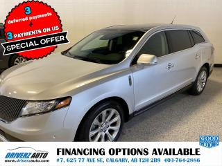 Used 2013 Lincoln MKT EcoBoost *** PRICE REDUCED** FULLY LOADED WITH REAR DVDs for sale in Calgary, AB
