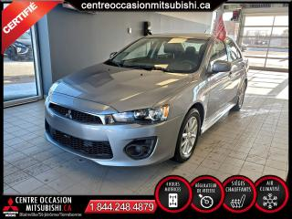 Used 2017 Mitsubishi Lancer ES 4X4 + CLIM + BLUETOOTH + CAMERA for sale in Blainville, QC