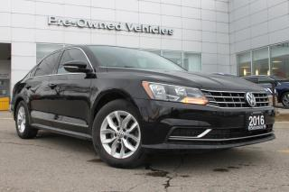 Used 2016 Volkswagen Passat 1.8 TSI Trendline ONE OWNER ACCIDENT FREE TRADE. SNOW TIRES ON RIMS INCLUDED. for sale in Toronto, ON