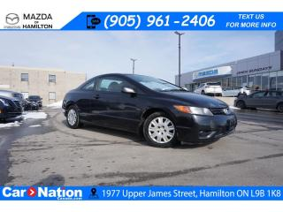 Used 2008 Honda Civic DX | AS-TRADED | 5 SPEED | COUPE | A/C for sale in Hamilton, ON