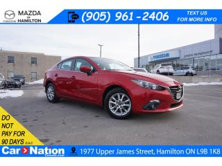 Used 2015 Mazda MAZDA3 GS | SUNROOF | REAR CAM | HEATED SEATS | ALLOYS for sale in Hamilton, ON