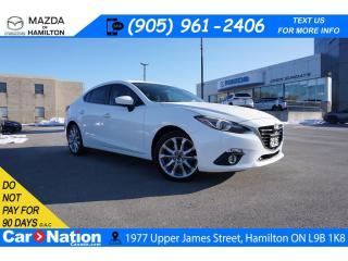 Used 2016 Mazda MAZDA3 GT | LEATHER | SUNROOF | NAV | BOSE | REAR CAM for sale in Hamilton, ON