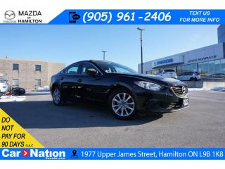 Used 2017 Mazda MAZDA6 GS | LEATHER | SUNROOF | NAVI | REAR CAM for sale in Hamilton, ON