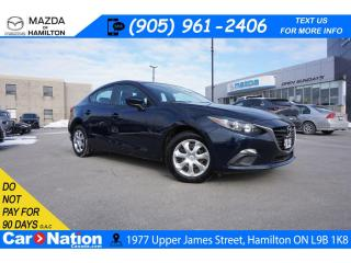 Used 2016 Mazda MAZDA3 GX | NAV | REAR CAM | TOUCH SCREEN | BLUETOOTH for sale in Hamilton, ON