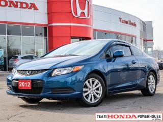 Used 2012 Honda Civic EX | Moonroof | Cln. CarFax | Tint | Alloy's | ECON Mode for sale in Milton, ON