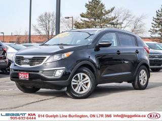 Used 2013 Kia Sportage LX 1 OWNER, AIR CONDITIONING, BLUETOOTH, CRUISE, KEYLESS ENTRY, HEATED SEATS for sale in Burlington, ON
