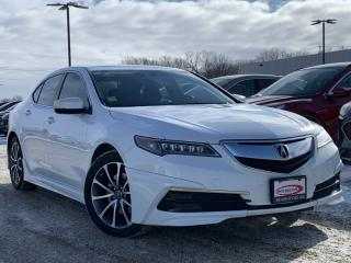 Used 2016 Acura TLX Tech HEATED SEATS / STEERING WHEEL for sale in Midland, ON