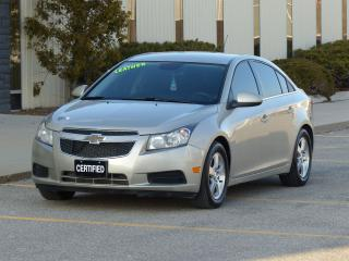 Used 2013 Chevrolet Cruze LEATHER,LT TURBO,DEALER SERVICE,LOADED,HEATED SEAT for sale in Mississauga, ON