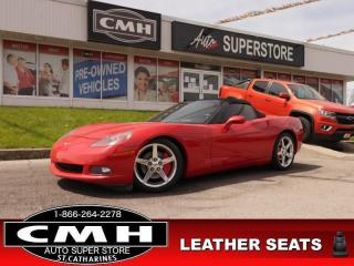 Used 2005 Chevrolet Corvette 2-DR CONVERTIBLE 6.0L LS2 for sale in St. Catharines, ON