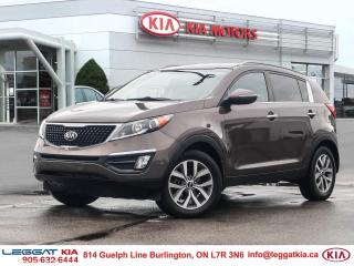 Used 2014 Kia Sportage EX, AIR CONDITIONING, CRUISE, KEYLESS ENTRY, HEATED SEATS, PARKING SENSORS, BACKUP CAMERA for sale in Burlington, ON