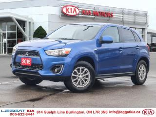 Used 2015 Mitsubishi RVR SE, ONE OWNER, NO ACCIDENTS, ALL WHEEL DRIVE, HEATED SEATS, CRUISE, BLUETOOTH for sale in Burlington, ON