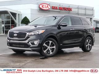 Used 2016 Kia Sorento BACKUPCAM, REAR CROSS TRAFFIC ALERT, HEATED SEATS, BLIND SPOT DETECT, NO ACCIDENTS, TWO OWNER, PANOR for sale in Burlington, ON