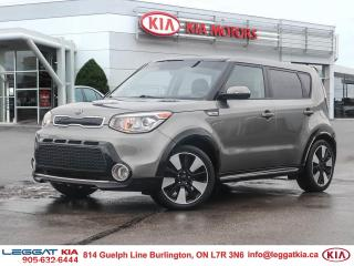 Used 2016 Kia Soul SX Urban Special Edition, LEATHER, BACKUP CAMERA, NO ACCIDENTS, ONE OWNER, BALANCE OF FACTORY WARRAN for sale in Burlington, ON