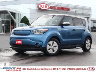 Used 2016 Kia Soul EV EV, LUXURY, HEATED SEATS, VENTILATED SEATS, BACKUP CAMERA, BLUETOOTH, NAVIGATION for sale in Burlington, ON
