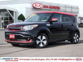 Used 2018 Kia Soul EV EV, BACKUP CAMERA, BLUETOOTH, NAVIGATION for sale in Burlington, ON
