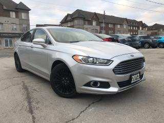Used 2013 Ford Fusion Navi|Leather|Sunroof|Rear camera|Accident free for sale in Burlington, ON