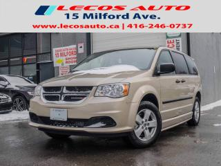 Used 2014 Dodge Grand Caravan SE BRAUN MOBILITY VAN for sale in North York, ON