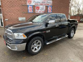 Used 2016 RAM 1500 Laramie/ECODIESEL/4X4/CREW CAB/RAM BOX/CERTIFIED for sale in Cambridge, ON