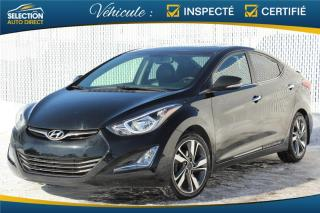 Used 2014 Hyundai Elantra Limited for sale in Ste-Rose, QC