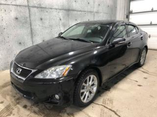 Used 2011 Lexus IS 250 AWD CUIR 2.5L 204HP for sale in St-Nicolas, QC
