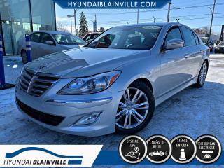 Used 2012 Hyundai Genesis PREMIUM, NAVI, CUIR, TOIT, MAGS for sale in Blainville, QC