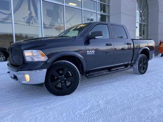 Used 2016 RAM 1500 OUTDOORSMAN , CREWCAB , BOITE 5'7'' , DI for sale in Ste-Agathe-des-Monts, QC