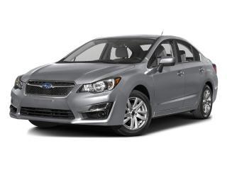 Used 2016 Subaru Impreza 4dr Sdn Man 2.0i for sale in Gatineau, QC