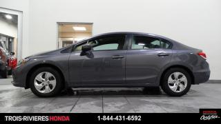 Used 2015 Honda Civic LX + DÉMARREUR ! for sale in Trois-Rivières, QC