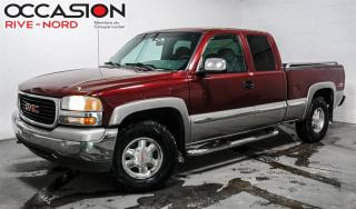 Used 2001 GMC Sierra 1500 4 portes 4x4 5.3L. for sale in Boisbriand, QC