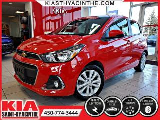 Used 2017 Chevrolet Spark LT ** CAMÉRA DE RECUL / BLUETOOTH for sale in St-Hyacinthe, QC