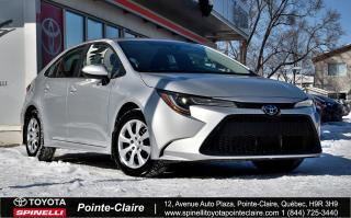Used 2020 Toyota Corolla LE COMME NEUF for sale in Pointe-Claire, QC