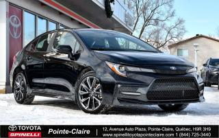 Used 2020 Toyota Corolla SE UPGRADE MAGS, TOIT, BAS KM! for sale in Pointe-Claire, QC