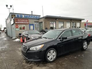 Used 2016 Subaru Legacy 2.5 for sale in Brampton, ON