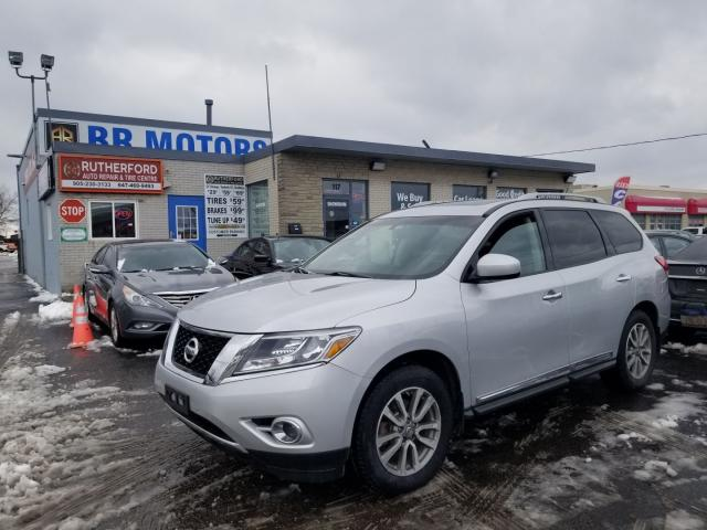 2013 Nissan Pathfinder SL 7 SEATER SUNROOF AWD