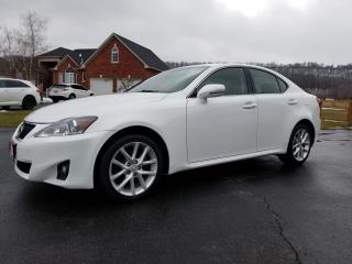 Used 2012 Lexus IS 250 PREMIUM PKG for sale in Stoney Creek, ON