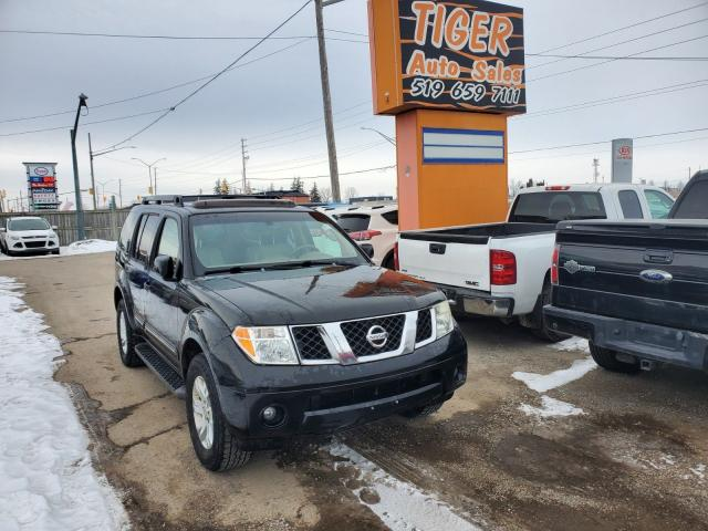 2007 Nissan Pathfinder LE**LEATHER**7 PASSENGER**SUNROOF**AS IS SPECIAL