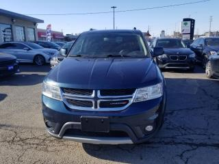 Used 2013 Dodge Journey SXT 7  SEATER CREW  PKG ALLOYS REAR CAMERA for sale in Brampton, ON