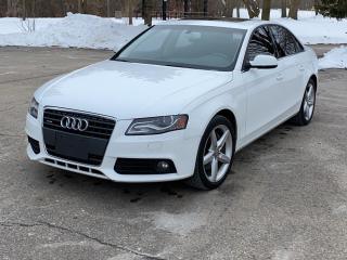 Used 2011 Audi A4 4dr Sdn Auto quattro 2.0T for sale in Guelph, ON