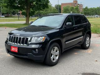 Used 2012 Jeep Grand Cherokee 4WD 4Dr Laredo for sale in Guelph, ON