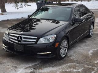 Used 2011 Mercedes-Benz C-Class 4dr Sdn C 250 4MATIC for sale in Guelph, ON