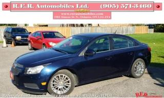 Used 2011 Chevrolet Cruze Eco w/1SA for sale in Oshawa, ON