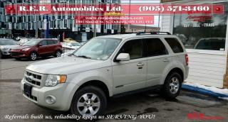 Used 2008 Ford Escape Limited for sale in Oshawa, ON
