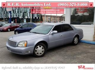 Used 2004 Cadillac DeVille Base for sale in Oshawa, ON