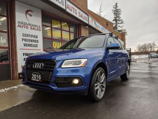 Used 2016 Audi SQ5 SQ5*AWD*CLEAN CARFAX*ONTARIO*1 OWNER*FULLY LOADED* for sale in Burlington, ON